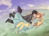 ソードアート・オンラインのアスナとキリト