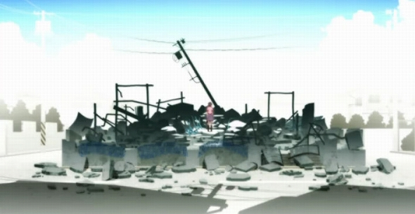羽川翼の家が全焼