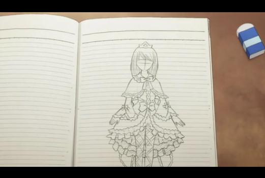 桜田ジュンのドレス