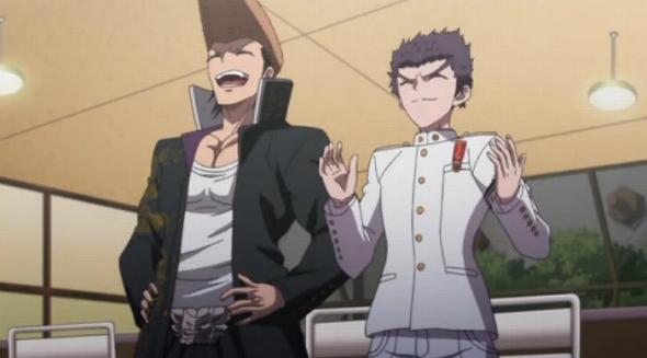 友情が芽生える大和田と石丸