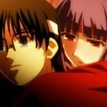 空の境界 第4話『浅上藤乃VS両儀式!!緑と赤の螺旋の念動力!!』感想