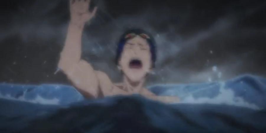 溺れる竜ヶ崎 怜(りゅうがざき れい)