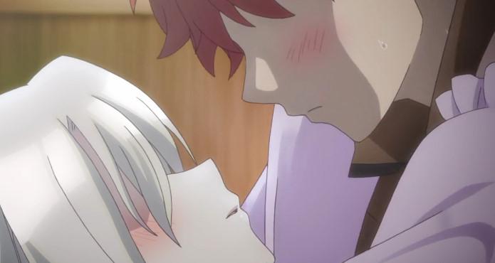 士郎とイリヤのキス