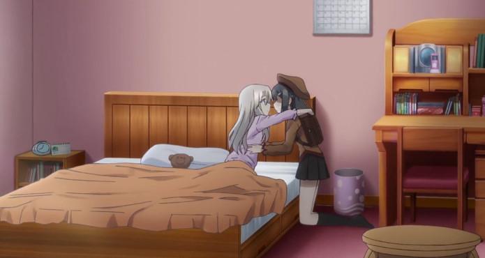 イリヤと美遊のキス