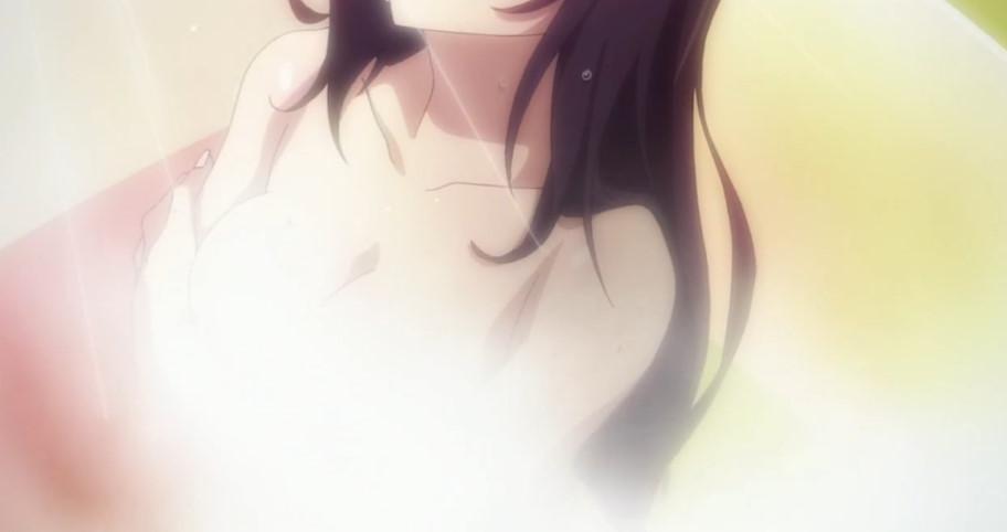 篠ノ之 箒(しののの ほうき)のシャワーシーン
