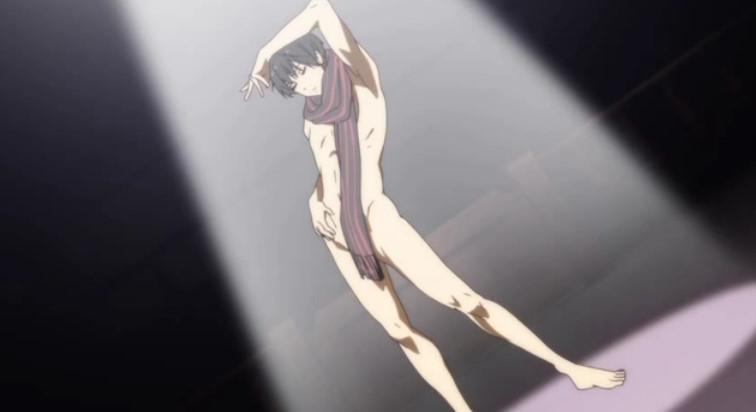 名瀬 博臣(なせ ひろおみ)全裸マフラー