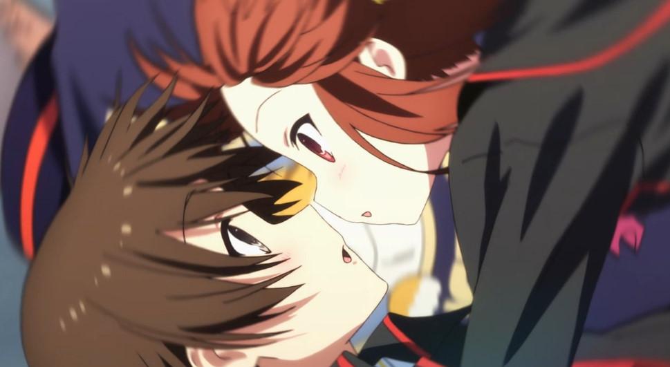 棗鈴とキス