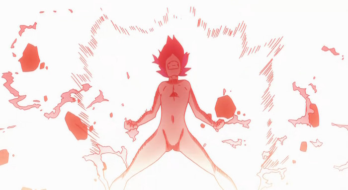 纒流子の裸