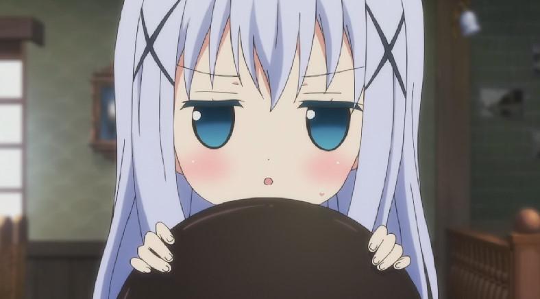 香風 智乃(かふう ちの、チノ)かわいい