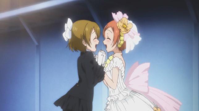 星空 凛の花嫁衣装