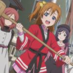 ラブライブ! 第2期 第10話「巫女にこ!餅つき!キャッチフレーズ!!」感想
