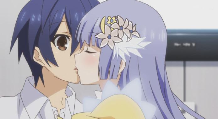 誘宵 美九(いざよい みく)キス