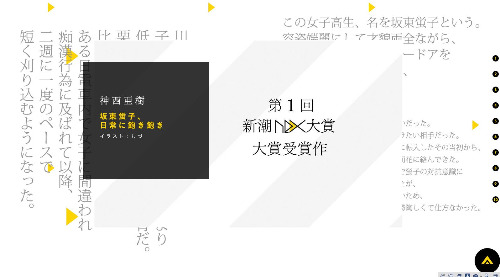 神西亜樹『坂東蛍子、日常に飽き飽き』