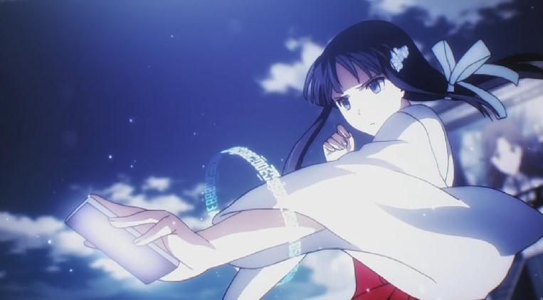 司波 深雪(しば みゆき)巫女服