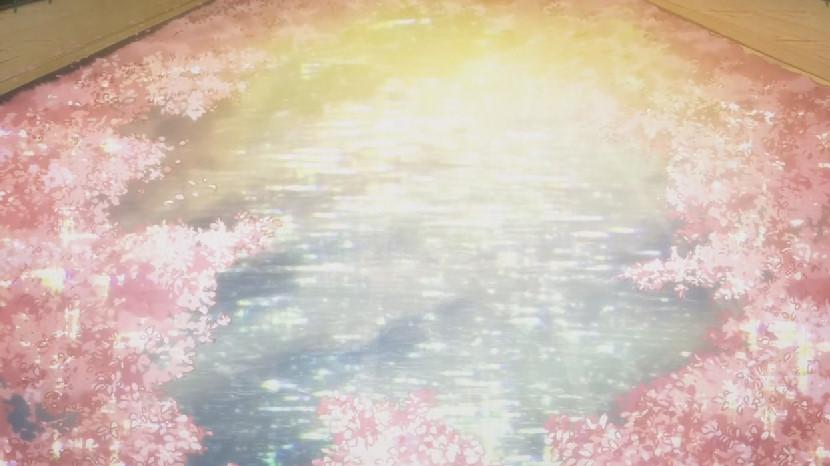 桜のプール