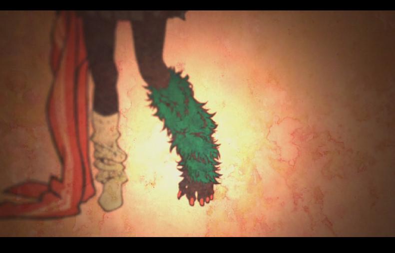 花鳥楼花の悪魔の左足