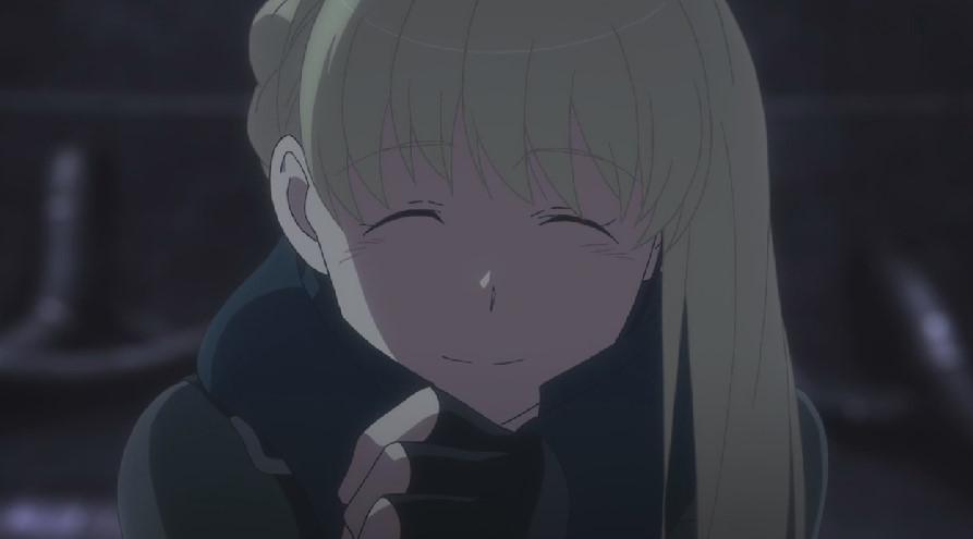 アセイラム姫の笑顔