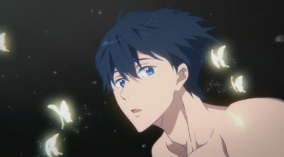 七瀬遙の蝶