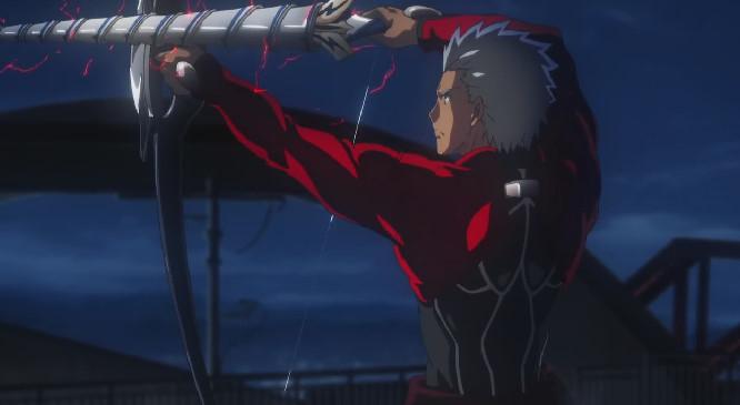 「偽・螺旋剣(カラドボルグII)」