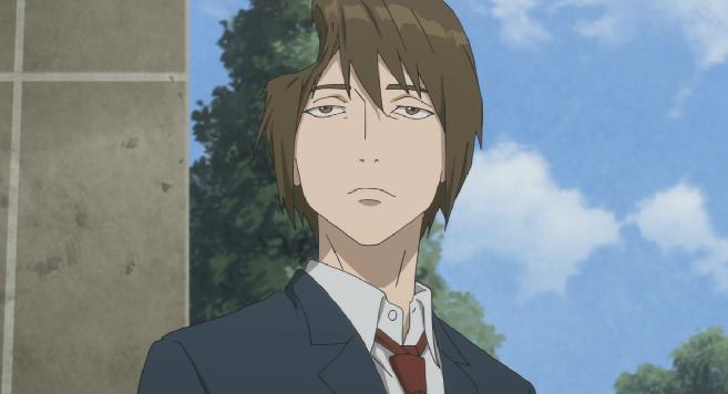 島田 秀雄(しまだ ひでお)の顔に野球のボール