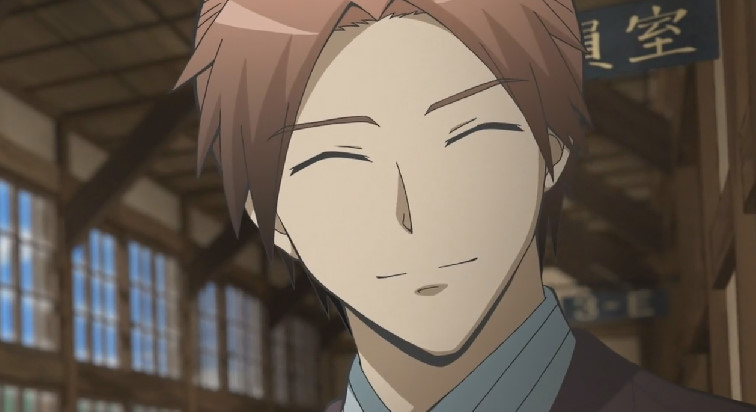 浅野 學峯の笑顔