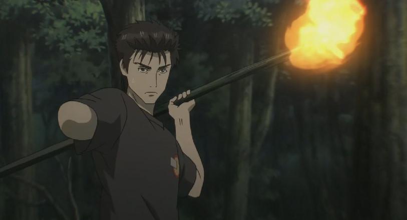 泉新一と火の槍