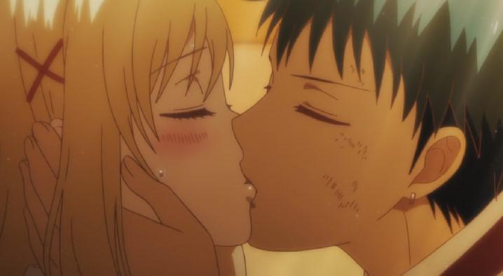 白石 うららキス