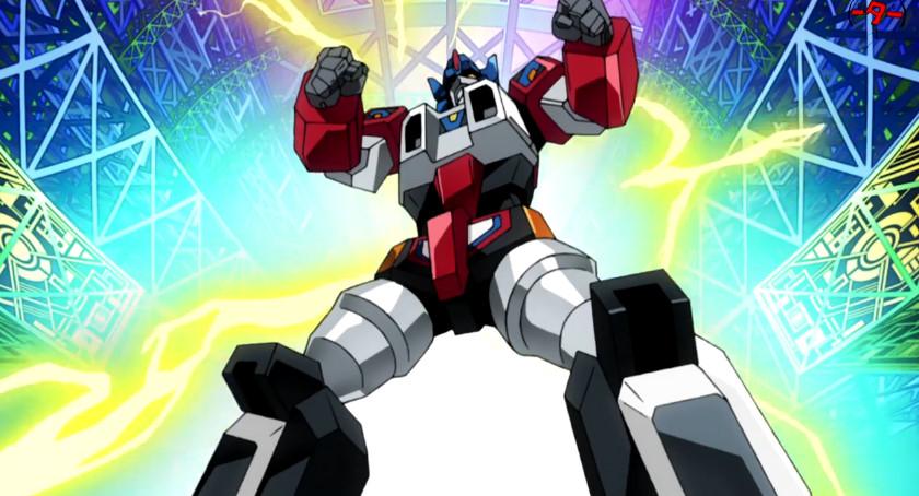 ロボットアニメ電光超人グリッドマン