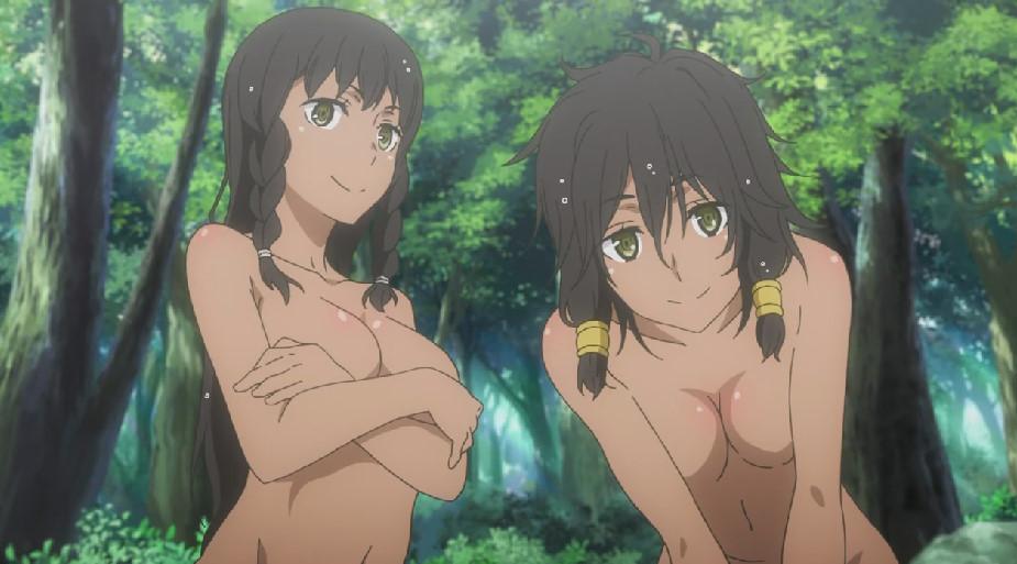 エロいヒュリテ姉妹の全裸