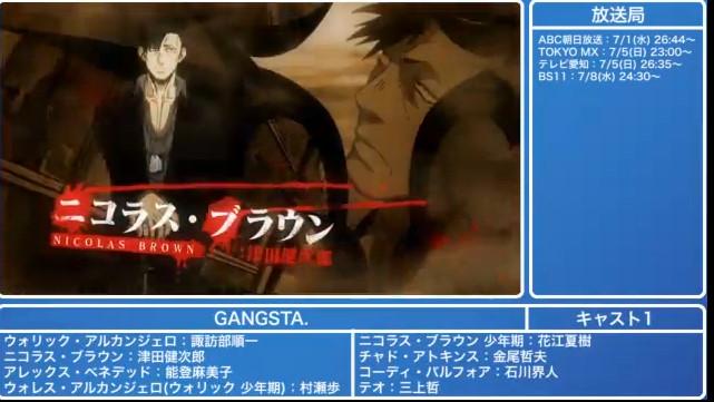 『GANGSTA』