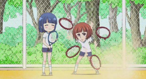 洲崎綾テニス