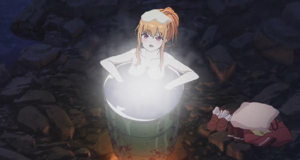 黒羽 美砂(くろばね みさ)入浴シーン