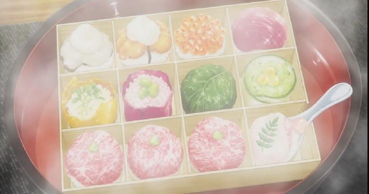 薙切 アリスの手毬寿司