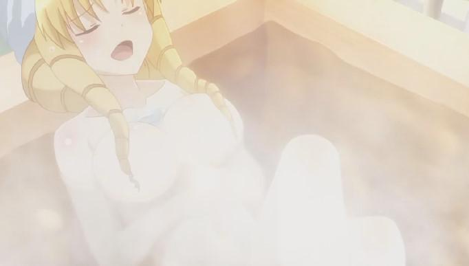 ルヴィアのお風呂シーン