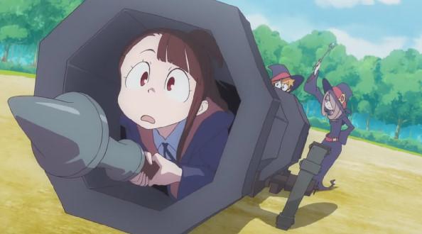 アツコ・カガリ人間大砲