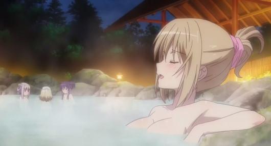 鳥海桜花お風呂シーン