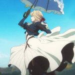 ヴァイオレット・エヴァーガーデン 第7話『青い日傘と大ジャンプ!』感想