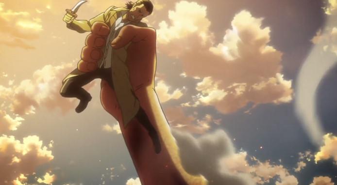 進撃の巨人 Season3 第10話『ケニーと巨人化の薬!』